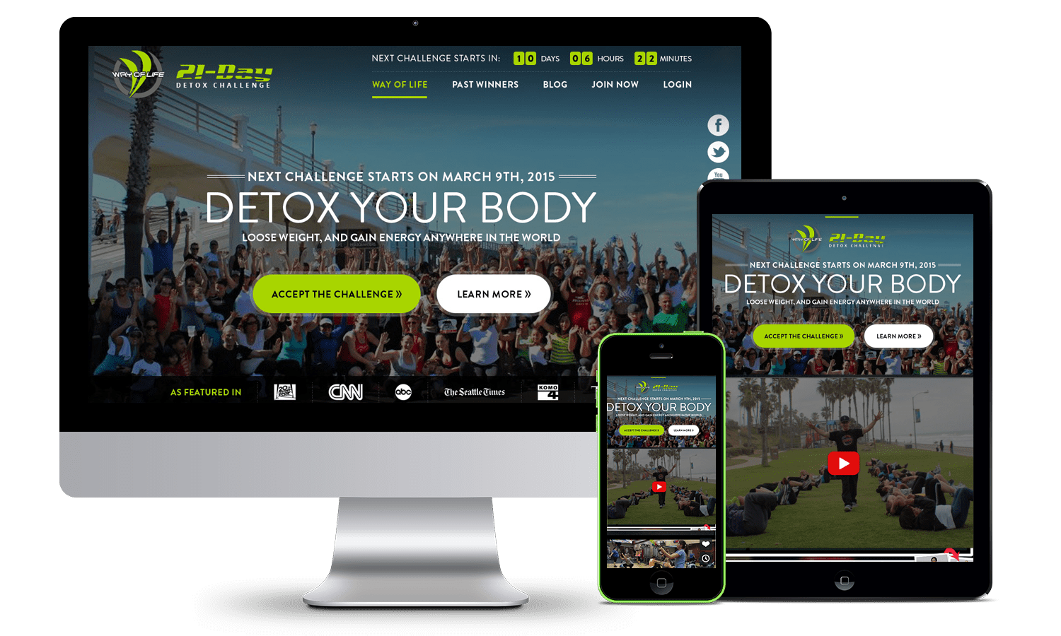 fitness-info-product-website