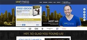 Ian Fitness Website