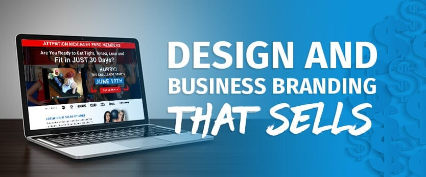 design and business branding that sells fitness web design